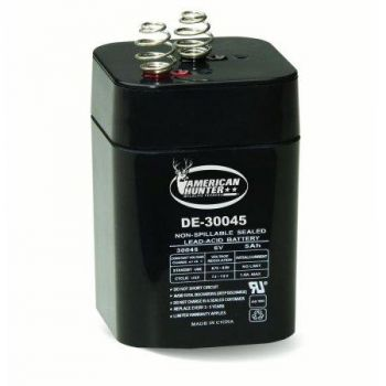 American-Hunter-Feeder-Battery-6V-Recharge-5-Amp-Hr-With-Spring ABL650S