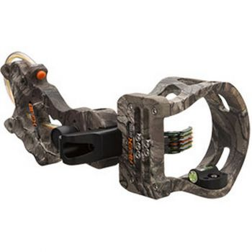 Apex Bow Sight Accu-Strike Xs 5-Pin .019 Realtree Xtra Camo