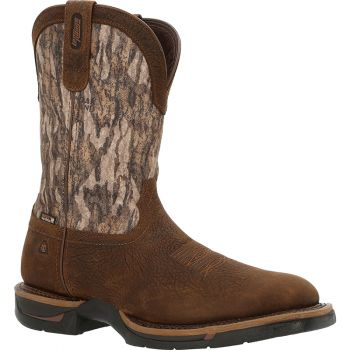 Rocky Long Range Boots Leather/Mobl 11In Med Sz 7